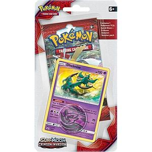 Pokemon Trading Card Game: Crimson Invasion Checklane Blister Pack with Dhelmise