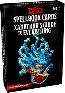 Dungeons & Dragons: Xanathar's Guide Spellbook Cards