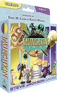 Munchkin Collectible Card Game: Cleric and Thief Starter Set