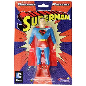 NJ Croce Bendable Comic Superman