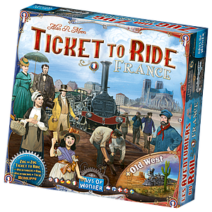 Ticket to Ride Map Collection: Volume 6 - France & Old West