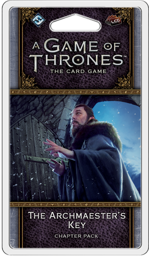 A Game of Thrones: The Card Game (Second Edition) - The Archmaester's Key