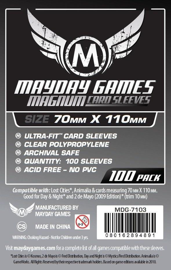 Lost Cities Card Sleeves - Magnum Ultra-Fit (70mm x 110mm)