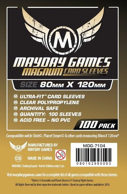 "Card Sleeves 100-pack: Magnum Ultra-Fit ""Dixit"""