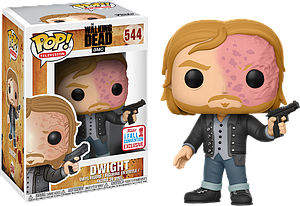 Pop! Television The Walking Dead Vinyl Figure Dwight (Burnt Face) #544 2017 Fall Convention Exclusive