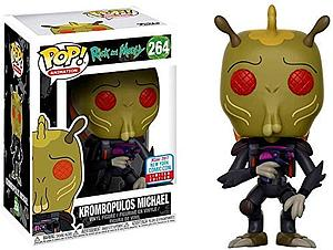Pop! Animation Rick & Morty Vinyl Figure Krombopulos Michael #264 2017 Fall Convention Exclusive