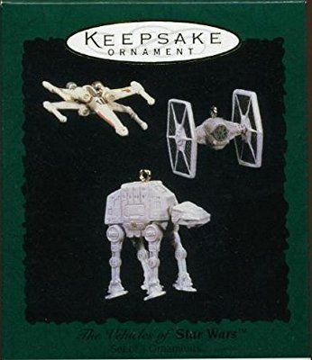 1996 Keepsake Ornament The Vehicles of Star Wars