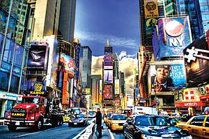 The World's Smallest Jigsaw Puzzle: Times Square