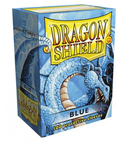 Dragon Shield Sleeves Standard Size: Blue