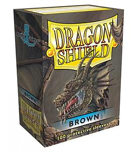 Dragon Shield Sleeves Standard Size: Brown