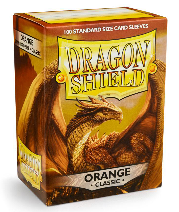 Dragon Shield Sleeves Standard Size: Orange