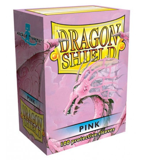 Dragon Shield Sleeves Standard Size: Pink