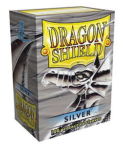 Dragon Shield Sleeves Standard Size: Silver