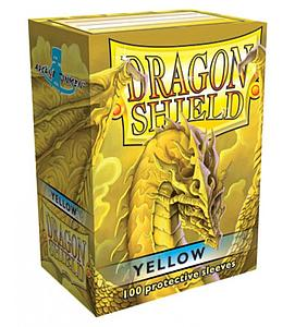Dragon Shield Sleeves Standard Size: Yellow