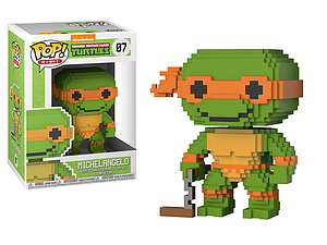 Pop! 8-Bit Teenage Mutant Ninja Turtles Vinyl Figure Michelangelo