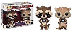 Pop! Games Guardians of the Galaxy: The Telltale Series Vinyl Figure 2-Pack Rocket and Lylla