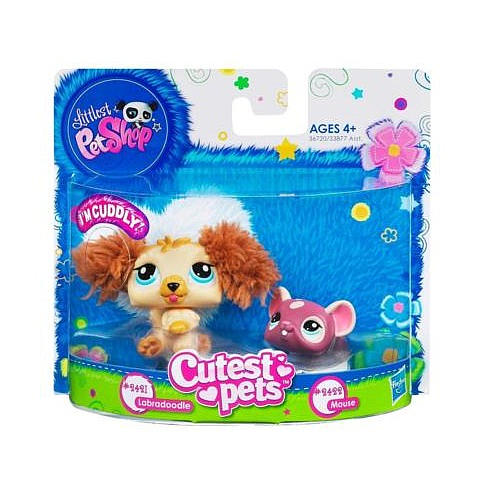 Littlest Pet Shop Cutest Pets: Labradoodle & Mouse