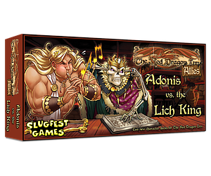 The Red Dragon Inn: Allies - Adonis vs the Lich King