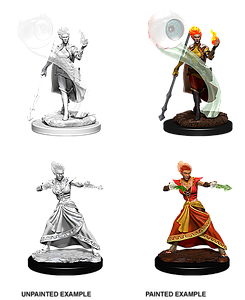 Dungeons & Dragons Nolzur's Marvelous Unpainted Miniatures: Fire Genasi Female Wizard