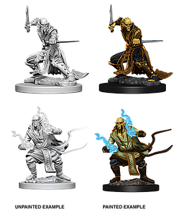 Dungeons & Dragons Roleplaying Game Unpainted Miniatures: Githzerai