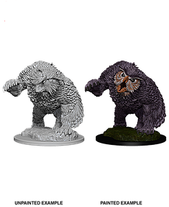 Dungeons & Dragons Roleplaying Game Unpainted Miniatures: Owlbear