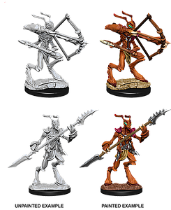 Dungeons & Dragons Roleplaying Game Unpainted Miniatures: Thri-Kreen