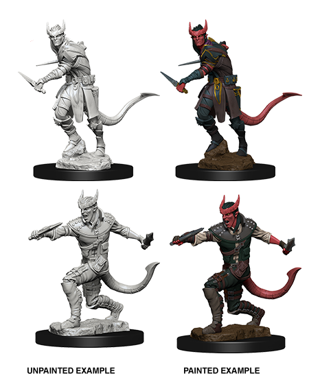 Dungeons & Dragons Nolzur's Marvelous Unpainted Miniatures: Tiefling Male Rogue