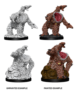 Dungeons & Dragons Roleplaying Game Unpainted Miniatures: Xorn