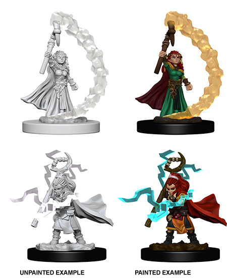 Dungeons & Dragons Roleplaying Game Unpainted Miniatures: Mini-Gnome Female Sorcerer