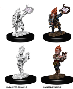 Dungeons & Dragons Nolzur's Marvelous Unpainted Miniatures: Mini-Gnome Male Bard