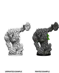 Dungeons & Dragons Roleplaying Game Unpainted Miniatures: Mini-Medium Earth Elemental