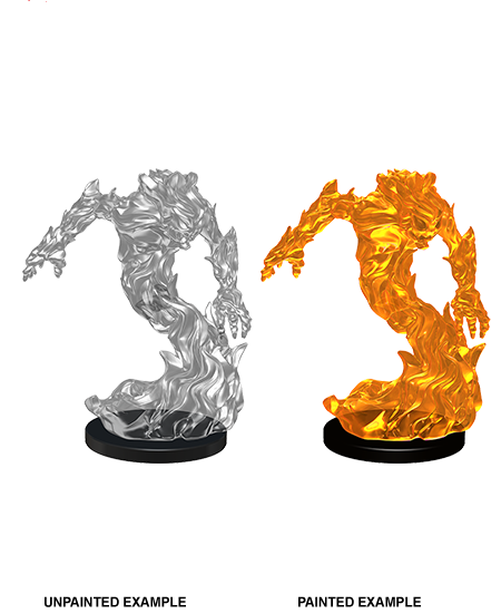 Dungeons & Dragons Roleplaying Game Unpainted Miniatures: Mini-Medium Fire Elemental