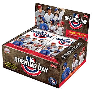 2018 MLB Opening Day Baseball: Booster Box