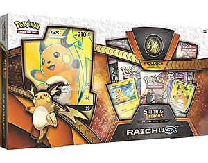 Pokemon Trading Card Game: Shining Legends Raichu-GX Box