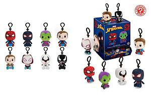 Mystery Minis Plushies Keychain Blind Box: Marvel Spiderman (12 Packs)