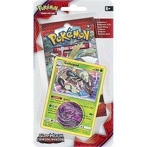 Pokemon Trading Card Game: Sun & Moon (SM4) Crimson Invasion Checklane Blister Pack with Golisopod