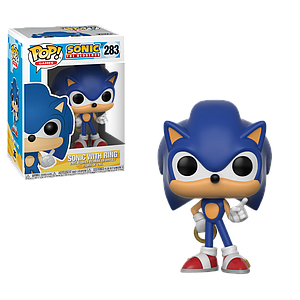 Pop! Games Sonic the Hedgehog Vinyl Figure Sonic with Ring
