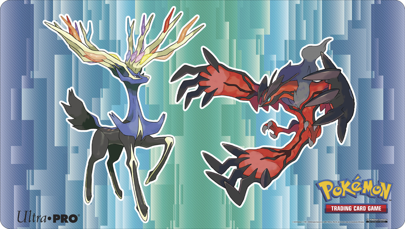 Pokemon XY Playmat: Yveltal & Xerneas