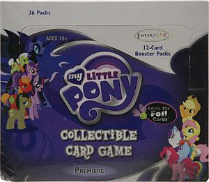 My Little Pony Collectible Card Game Premiere Edition Booster Box (36 Packs)