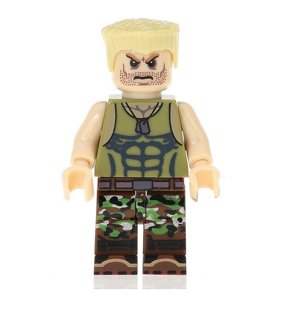 Games Street Fighter Minifigure: Guile