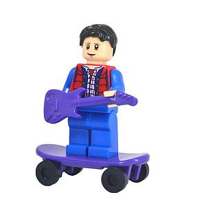 Movies Back to the Future Minifigure: Marty McFly (MO-6)