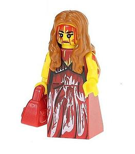 Movies Carrie Minifigure: Carrie (MO-7)