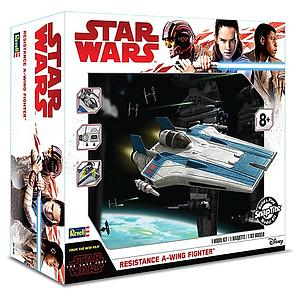 Revell Star Wars SnapTite Model Kit 1/44 Resistance A-Wing Fighter (RMX1639)