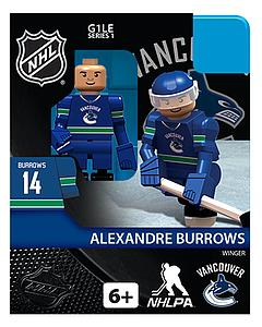NHL Hockey Minifigures: Alexandre Burrows (Vancouver Canucks)