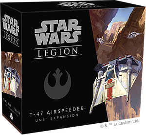 Star Wars: Legion T-47 Airspeeder Unit Expansion