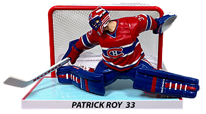 "NHL 6"" Hockey Figure with Net Patrick Roy (Montreal Canadiens)"