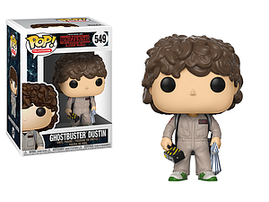 Pop! Television Stranger Things 2 Vinyl Figure Ghostbuster Dustin #549