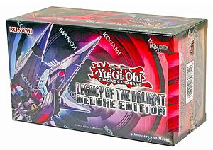 YuGiOh Trading Card Game Legacy of the Valiant: Deluxe Edition