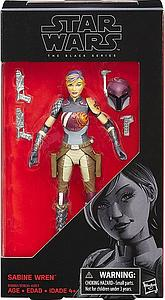 "Star Wars The Black Series 6"" Action Figure Sabine Wren"