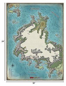 Dungeons & Dragons Roleplaying Game Tomb of Annihilation: Map Set